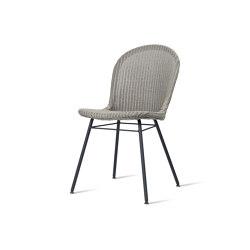 Yann dining chair steel A base | Stühle | Vincent Sheppard