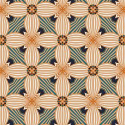Art Deco Lilly   Revestimientos de paredes / papeles pintados   GMM