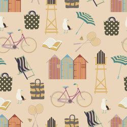Beach Promenade | Wall coverings / wallpapers | GMM