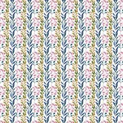 Delicate Foliage Stripes | Carta parati / tappezzeria | GMM