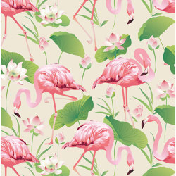 Flamingo Pool | Wall coverings / wallpapers | GMM