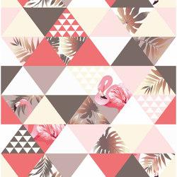 Flamingo Puzzle | Carta parati / tappezzeria | GMM