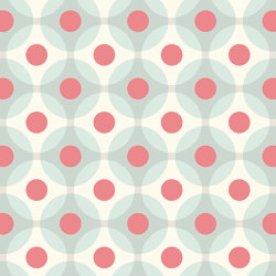 Flower Dots | Carta parati / tappezzeria | GMM