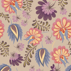 Folklore Flowers | Carta parati / tappezzeria | GMM