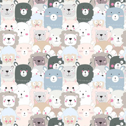 Happy Zoo | Wall coverings / wallpapers | GMM