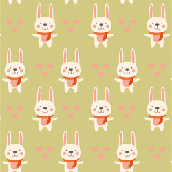 Little Bunny | Wall coverings / wallpapers | GMM