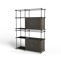 9900 E_Spirit Book Bookcase | Estantería | Vibieffe