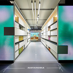 Color Kinetics Luminous Textile with Kvadrat Soft Cells | Special lights | Luminous Surfaces (Color Kinetics)