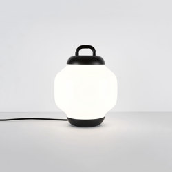 Esper Table Lamp (Black/White) | Lámparas de sobremesa | Roll & Hill