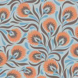 Art Nouveau Flowers | Revestimientos de paredes / papeles pintados | GMM