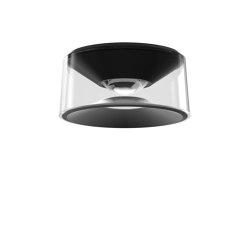 VIOR DC mounted lamps black | Lampade plafoniere | RIBAG