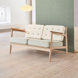 Model 107 - 2-seater with buttons | Sofas | Magnus Olesen