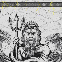Zeus 02 | Wall art / Murals | INSTABILELAB