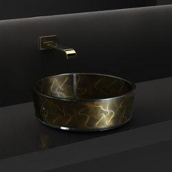 Vento Black | Wash basins | Glass Design