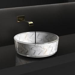 Vento White | Wash basins | Glass Design