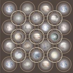 Planetas | Beige Square | Formatteppiche | moooi carpets