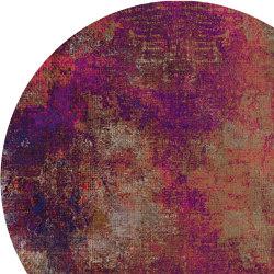 Quiet | Erosion Rhodonite Round | Formatteppiche | moooi carpets