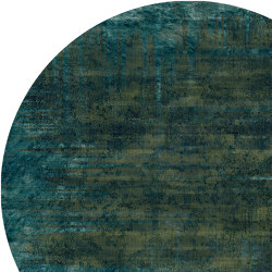 Quiet | Patina Moss Round | Formatteppiche | moooi carpets