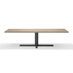 Cross Rectangular Dining Table | Dining tables | QLiv