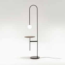 Light with a table | Free-standing lights | Living Divani