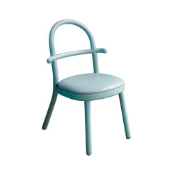 SI SOPHIE S'ASSOIT | Chair without Armrests | Celadon Green | Sillas | Maison Dada