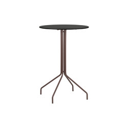 Weave |  High table | Compact top | Tavoli bistrò | Point
