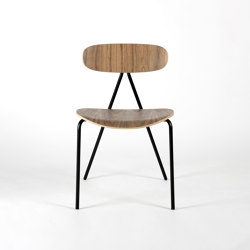 Lagoa - Walnut | Chairs | Objekto