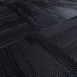 Missoni Flame Patch Black | Carpet tiles | Bolon