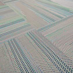 Missoni Flame Patch Lagoon | Carpet tiles | Bolon