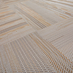 Missoni Flame Patch Wood | Carpet tiles | Bolon