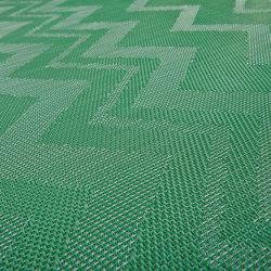 Missoni ZigZag Green | Teppichböden | Bolon