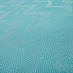 Missoni ZigZag Turquoise | Teppichböden | Bolon