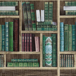 BRAVO - Books wallpaper EDEM 81155BR28 | Wall coverings / wallpapers | e-Delux