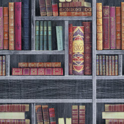 BRAVO - Books wallpaper EDEM 81155BR29 | Wall coverings / wallpapers | e-Delux