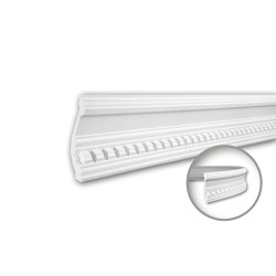 Interior mouldings - Cornice moulding Profhome 150109F | Coving | e-Delux