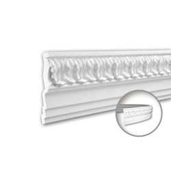 Interior mouldings - Cornice moulding Profhome 150136F | Coving | e-Delux