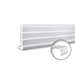 Interior mouldings - Cornice moulding Profhome 150145F | Coving | e-Delux