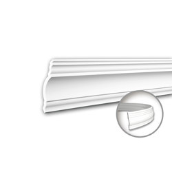 Interior mouldings - Cornice moulding Profhome 150148F | Coving | e-Delux