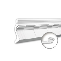 Interior mouldings - Cornice moulding Profhome 150151F | Coving | e-Delux