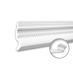 Interior mouldings - Cornice moulding Profhome 150152F | Coving | e-Delux