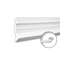 Interior mouldings - Cornice moulding Profhome 150153F | Coving | e-Delux