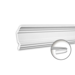 Interior mouldings - Cornice moulding Profhome 150177F | Coving | e-Delux