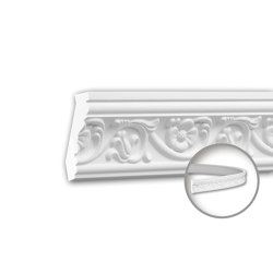 Interior mouldings - Cornice moulding Profhome 150181F | Coving | e-Delux