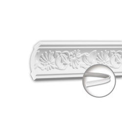 Interior mouldings - Cornice moulding Profhome 150188F | Coving | e-Delux