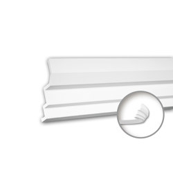 Interior mouldings - Cornice moulding Profhome 150260F | Coving | e-Delux
