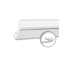 Interior mouldings - Cornice moulding Profhome 150277F | Coving | e-Delux