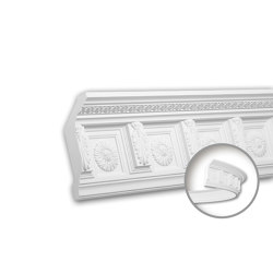 Interior mouldings - Cornice moulding Profhome 150281F | Coving | e-Delux
