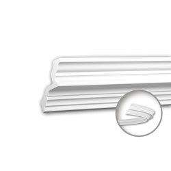 Interior mouldings - Cornice moulding Profhome 150286F | Coving | e-Delux