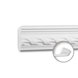 Interior mouldings - Cornice moulding Profhome 150289F | Coving | e-Delux