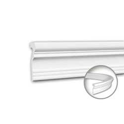 Interior mouldings - Panel moulding Profhome 151355F | Coving | e-Delux
